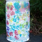 Lanternfest Rain Barrel
